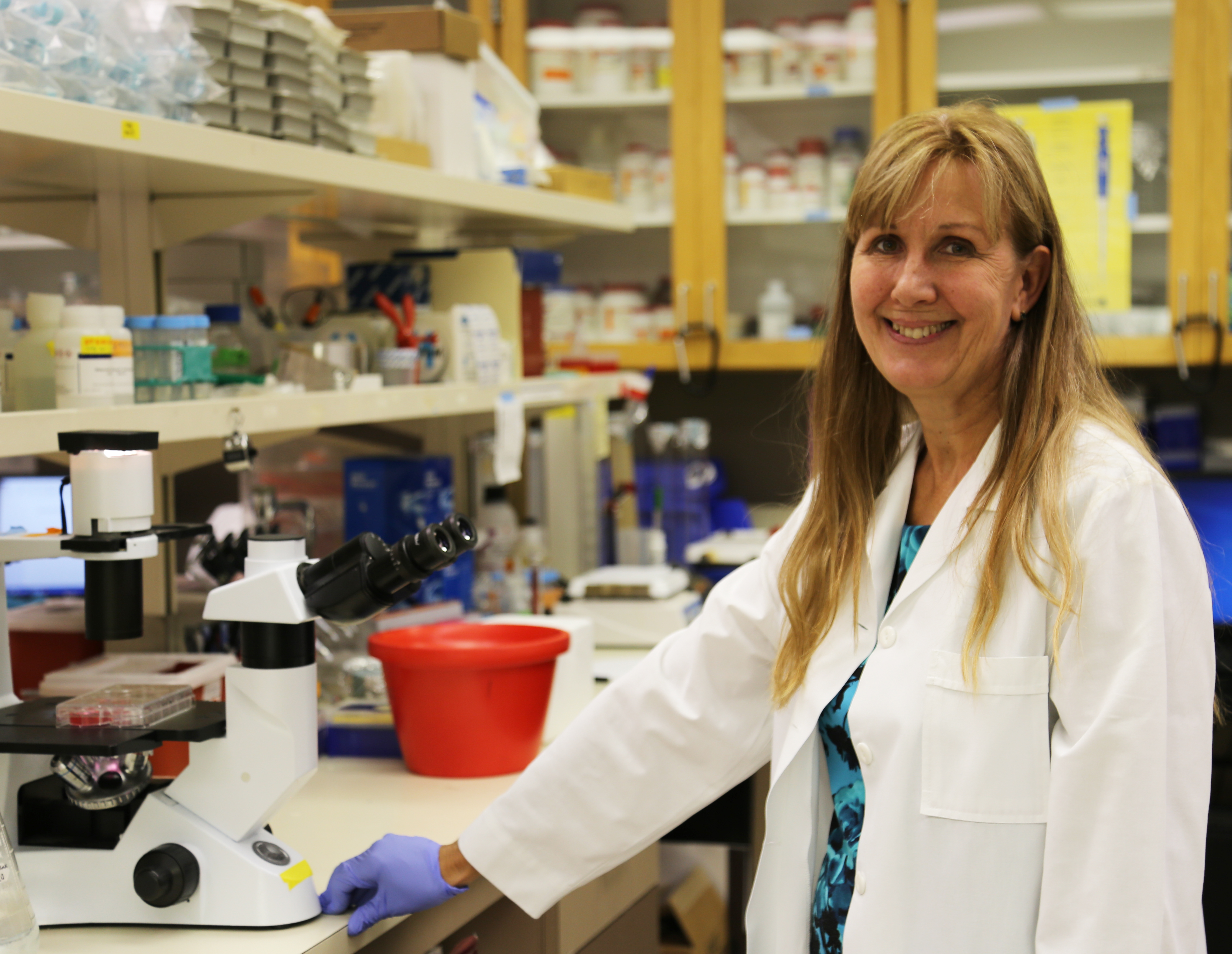 Loma Linda University School of Medicine professor Mary Kearns-Jonker wins prestigious International Space Station research award