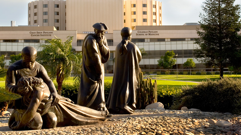 Loma Linda University Good Samaritan Sculpture