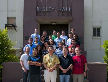 Neuroscience Research Laboratories Risley Hall Group Photo