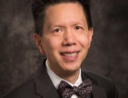 Francis Chan, MD, FAAP, FACP, as chair of the Department of Pediatrics.